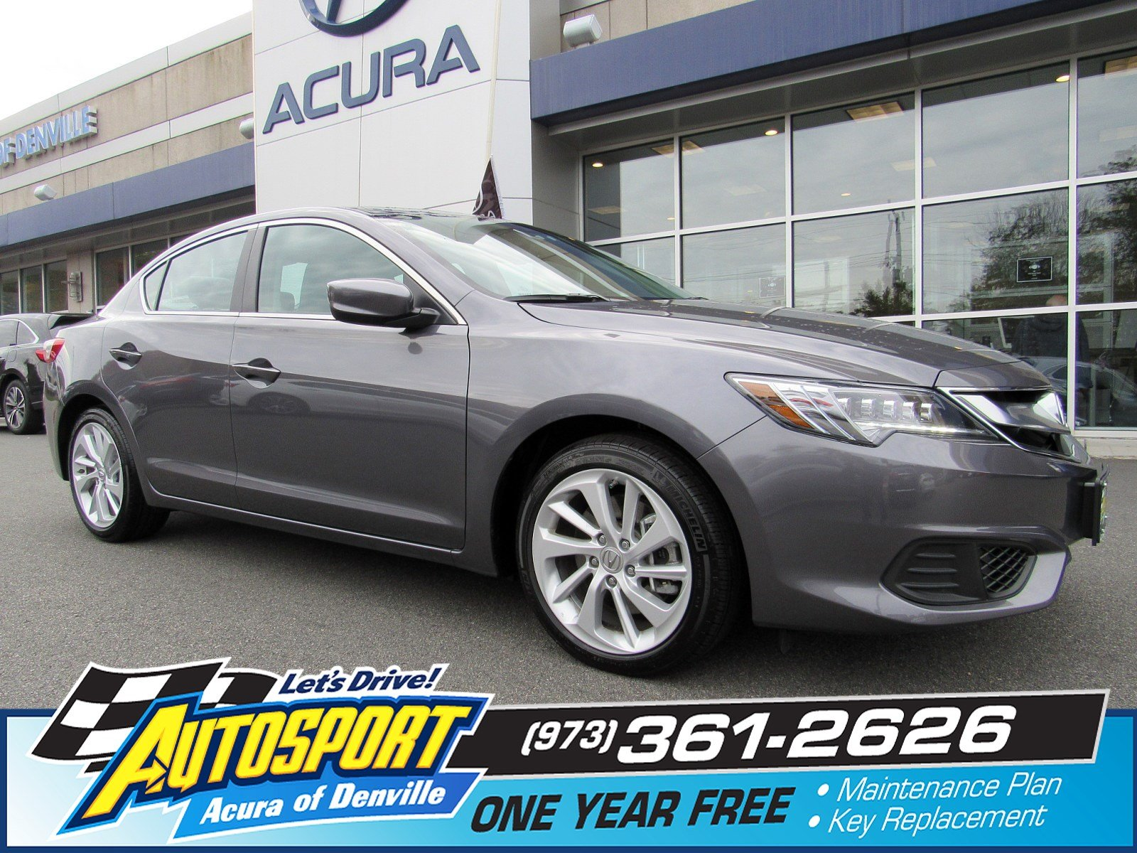 Pre Owned 2018 Acura ILX w Technology Plus Pkg 4dr Car in