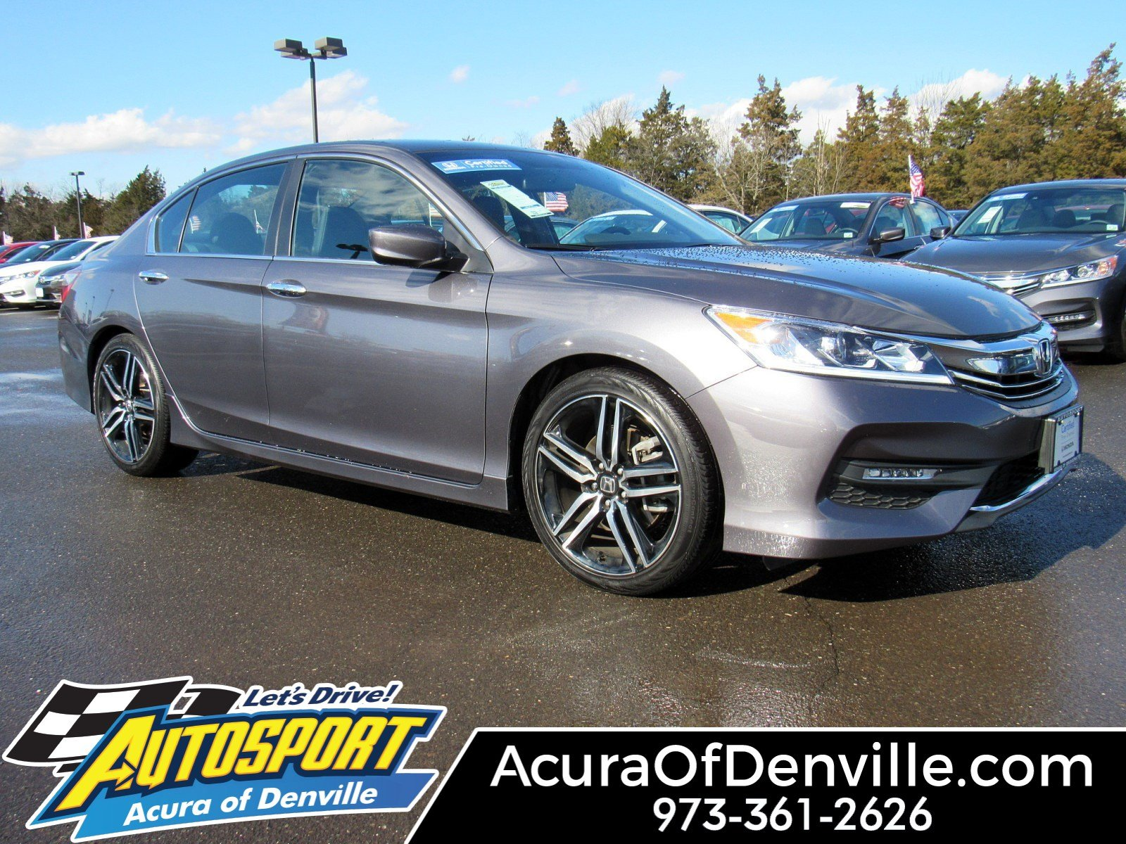 Pre-Owned 2016 Honda Accord Sedan Sport