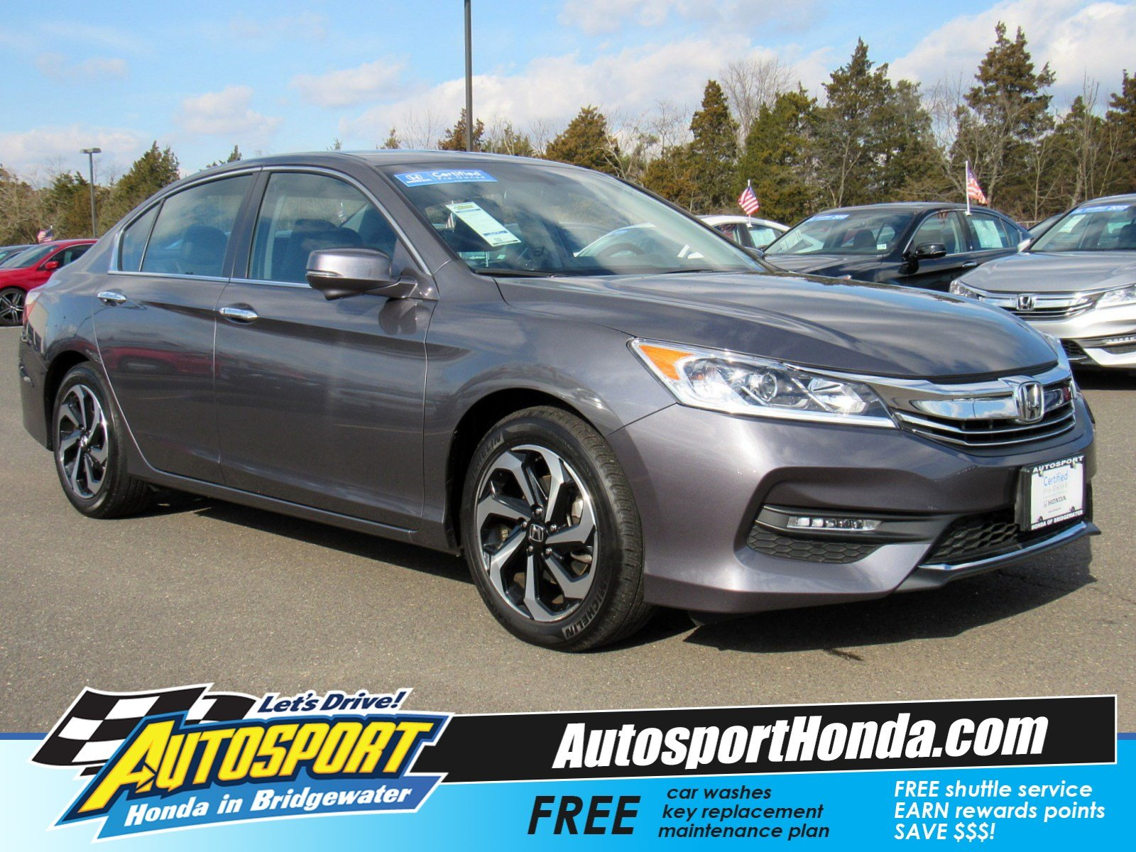 certified pre owned 2017 honda accord sedan ex l 4dr car in rh autosporthonda com