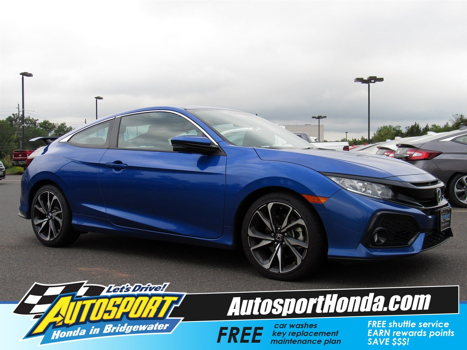 Pre Owned 2017 Honda Civic Coupe Si