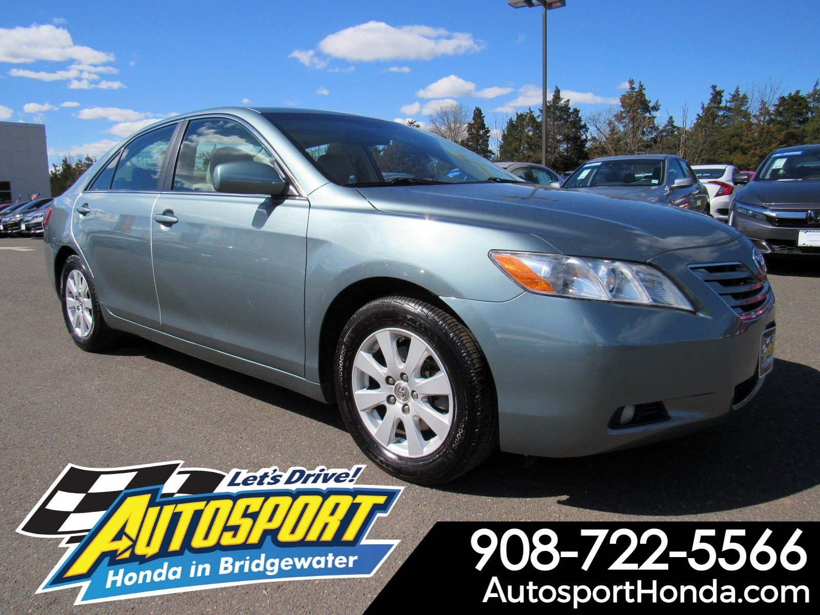 Pre Owned 2007 Toyota Camry Xle 4dr Car In Bridgewater H195709a Autosport Honda