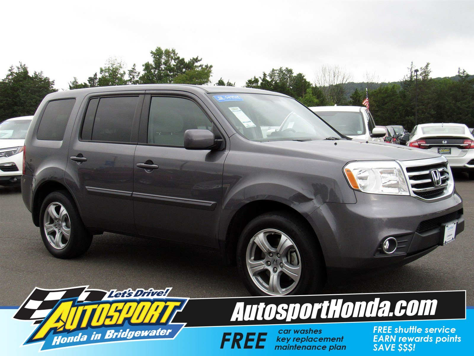 Certified Pre Owned 2015 Honda Pilot Ex Sport Utility In Bridgewater
