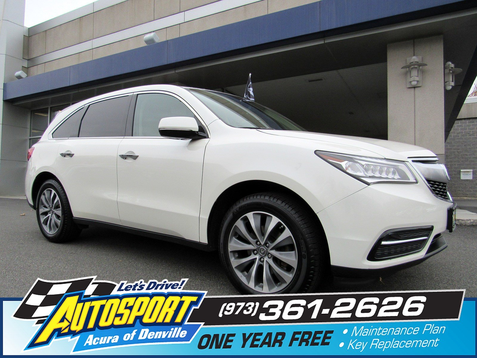 Pre Owned 2016 Acura MDX w Tech Entertainment Sport Utility in