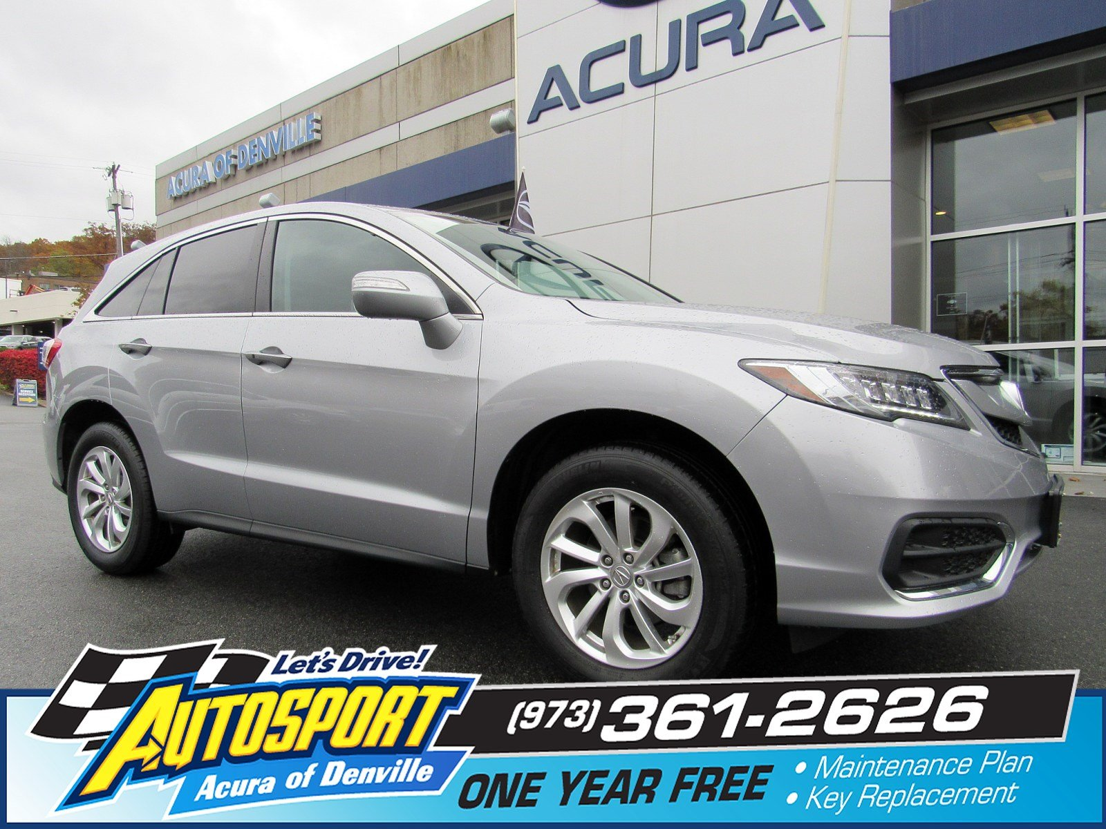 Pre Owned 2017 Acura Rdx W Technology Pkg