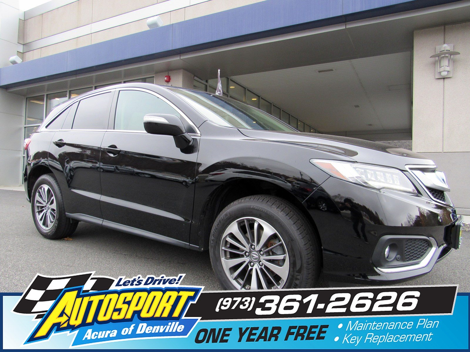 Pre Owned 2016 Acura RDX Advance Pkg Sport Utility in Bridgewater