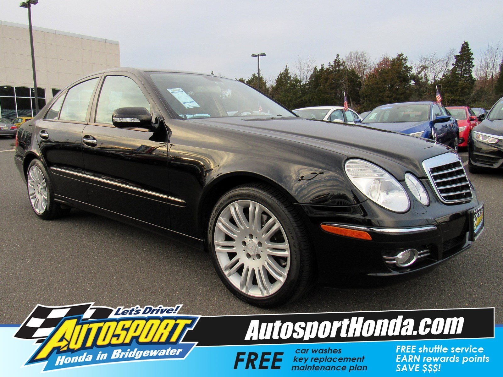 Pre Owned 2008 Mercedes Benz E Class Luxury 3 5L 4MATIC 4dr Car in